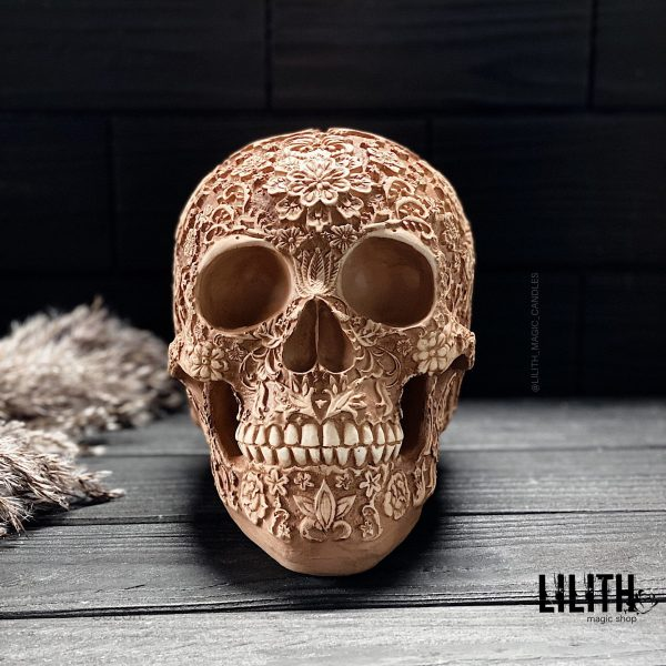 Алтарный череп Санта Муэрте