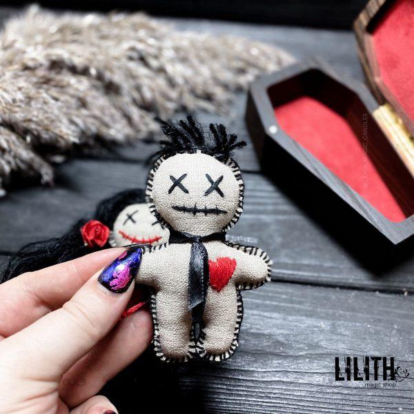 Куклы Вуду ручной работы для приворотов — 2 шт