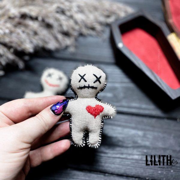 Handmade Sad Voodoo Doll for Voodoo spells