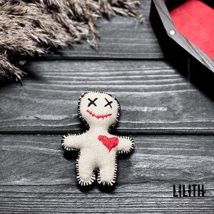 Handmade Happy Smiling Voodoo Doll for Voodoo spells
