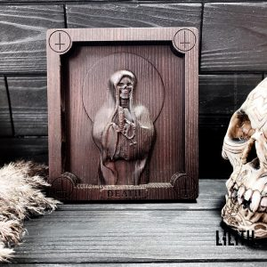 Death Wooden Icon for appealing to Her