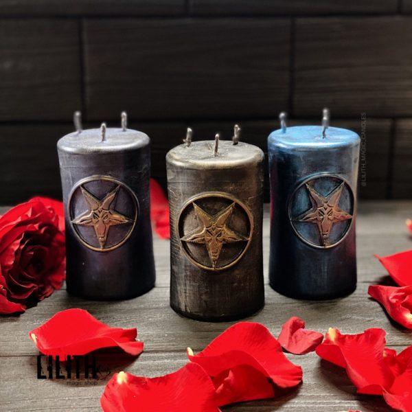 Алтарная свеча «Бафомет»