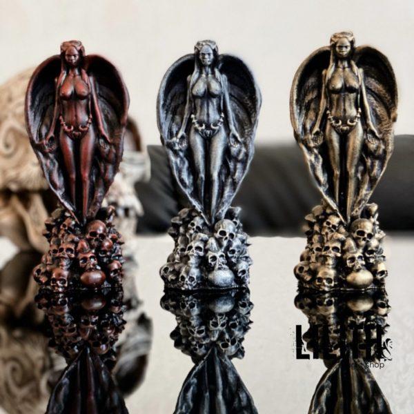 Lilith Gypsum Figurine – Clear Varnish Finish